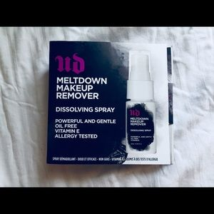Urban Decay makeup remover misting spray